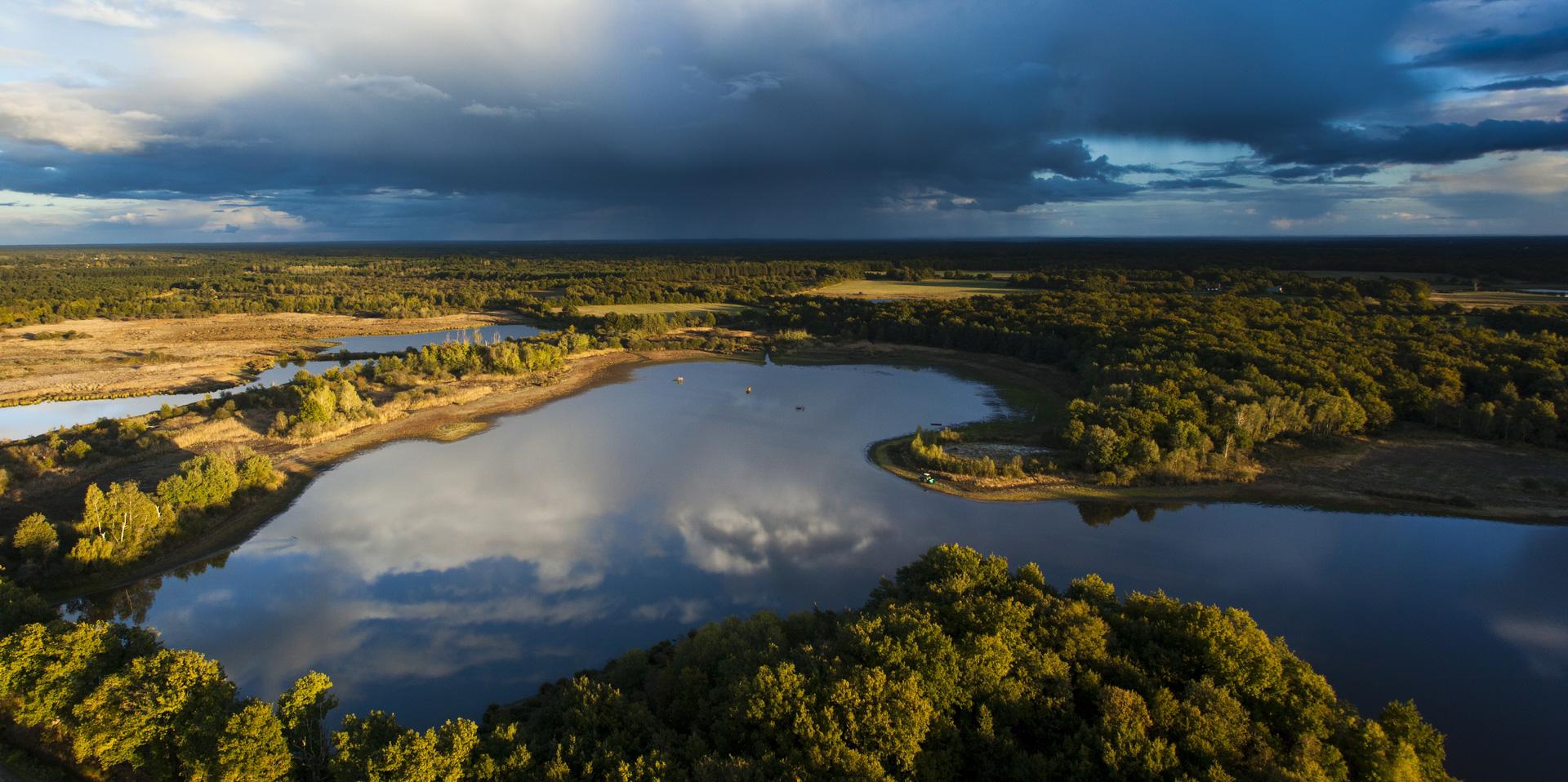 Lumières d'automne sur les étangs