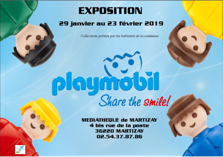 2019 fev expo playmobil martizay tn